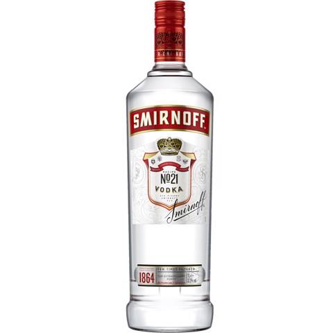 Smirnoff Regular Red Vodka     fles 1,00L