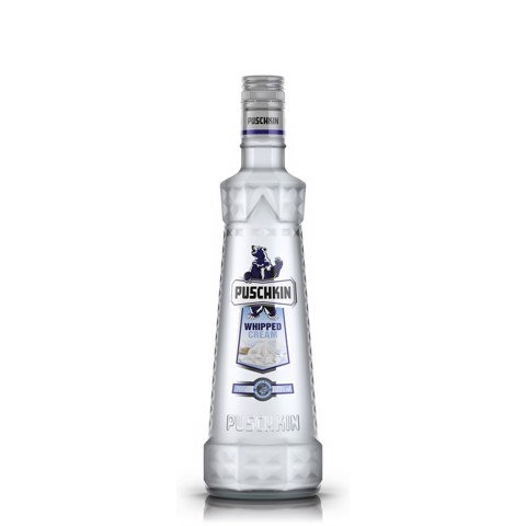 Puschkin Whipped Cream Vodka        fles 0,70L