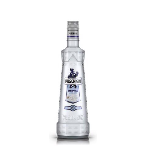 Puschkin Whipped Cream Vodka        fles 0,70L