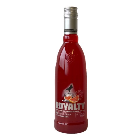 Royalty Red 12.5%             fles 0,70L