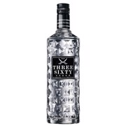 Three Sixty Vodka             fles 1,00L
