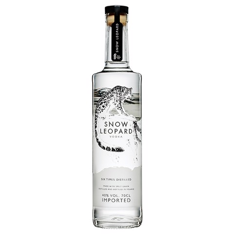 Snow Leopard Vodka            fles 0,70L