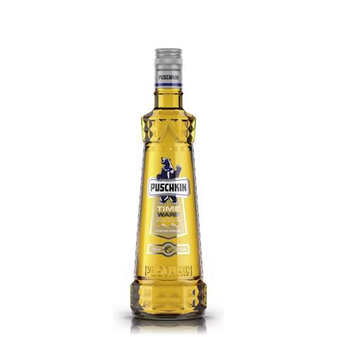Puschkin Timewarp Vodka       fles 0,70L