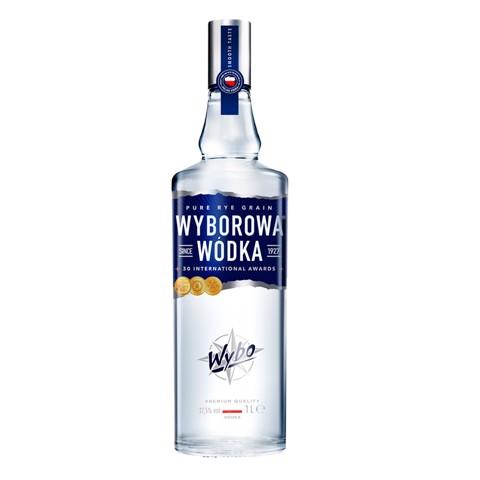 Wyborowa Wodka                fles 1,00L