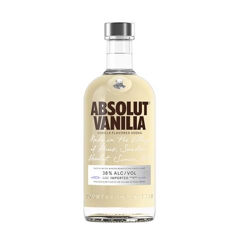 Absolut Vanilla Vodka         fles 0,70L