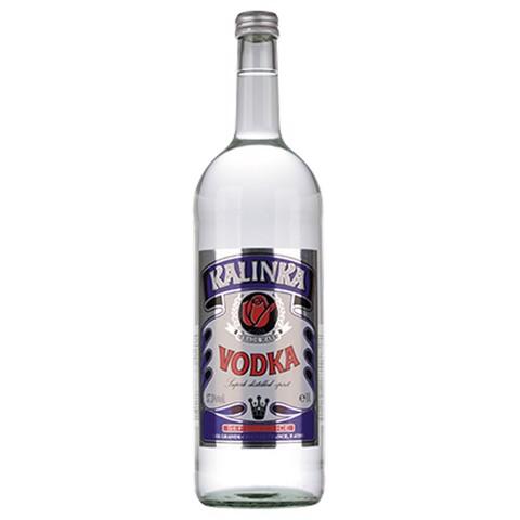 Kalinka Vodka                 fles 1,00L