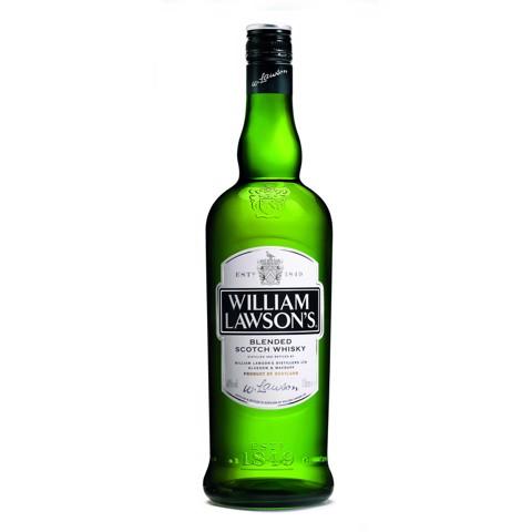 William Lawson's Whisky  fles 1,00L