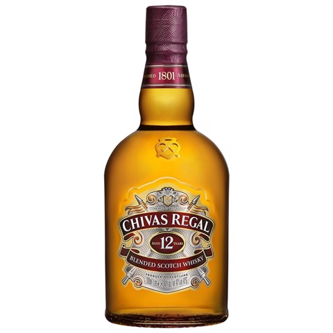Chivas Regal Scotch Whisky 12 YO   fles 1,00L