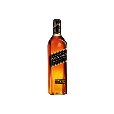 Johnnie Walker Whisky Black   fles 0,70L
