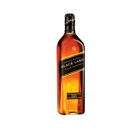 Johnnie Walker Whisky Black   fles 1,00L