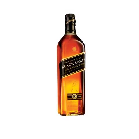 Johnnie Walker Whisky Black   fles 1,00L