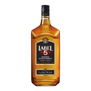 Label 5 Scotch Whisky         fles 1,00L