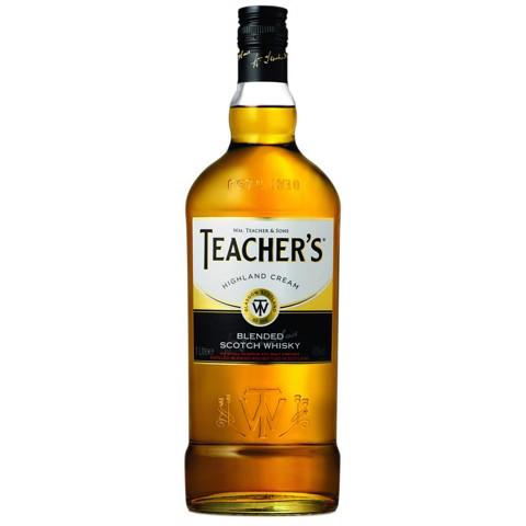 Teacher's Highland Whisky     fles 1,00L