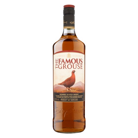 Famous Grouse Whisky          fles 1,00L