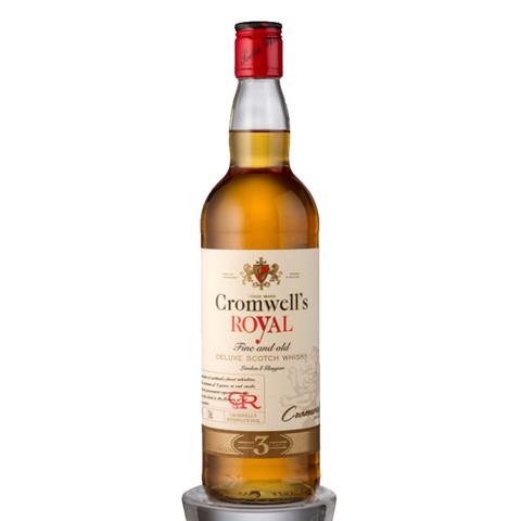 Cromwell's Scotch Whisky      fles 0,70L