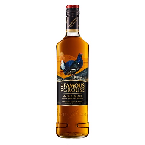Famous Grouse Smokey Black Whisky fles 0,70L