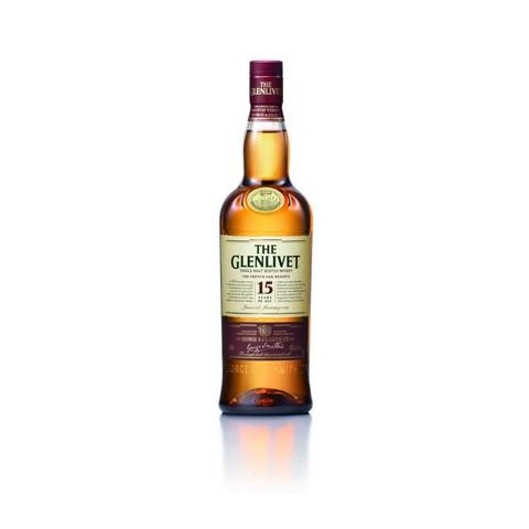 Glenlivet Single Malt French Oak 15 YO fles 0,70L