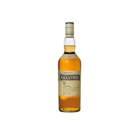 Cragganmore Single Malt 12 YO  fles 0,70L
