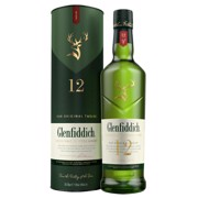 Glenfiddich Single Malt 12 YO        fles 0,70L