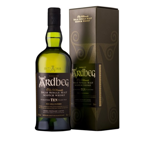 Ardbeg Islay Single Malt 10 YO  fles 0,70L