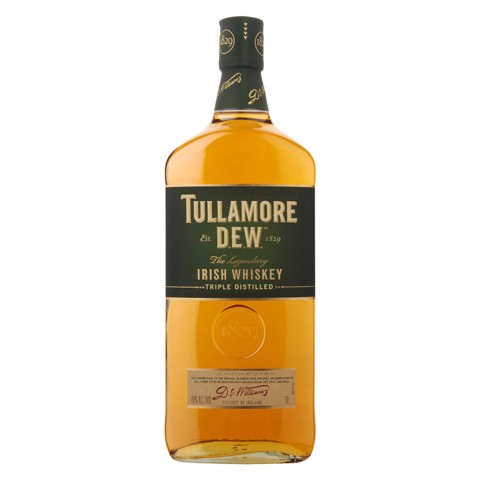 Tullamore Dew Irish Whiskey   fles 1,00L