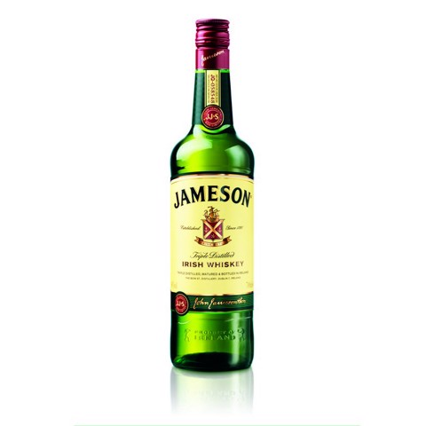 Jameson Irish Whiskey         fles 0,70L