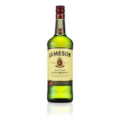 Jameson Irish Whiskey         fles 1,00L