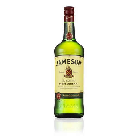 Jameson Irish Whiskey         fles 1,00L