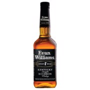Evan Williams Black Bourbon   fles 0,70L