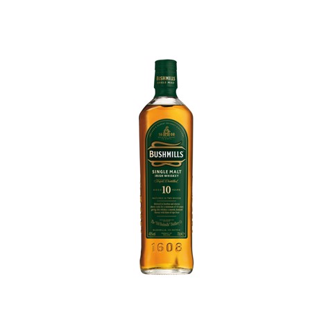 Bushmills Irish Whiskey 10 YO  fles 0,70L