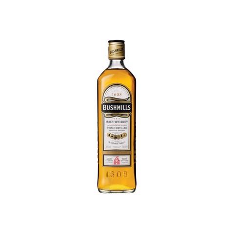 Bushmills Irish Whiskey       fles 0,70L