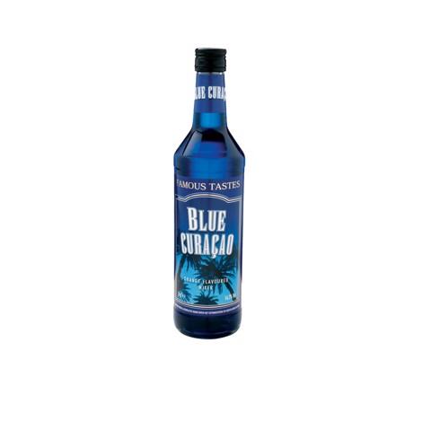 Famous Taste Blue Curacao     fles 0,70L