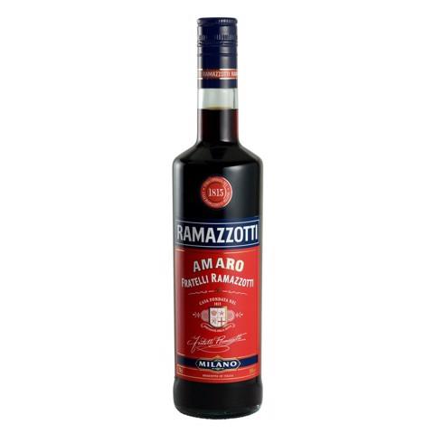 Ramazzotti Amaro Bitter       fles 0,70L