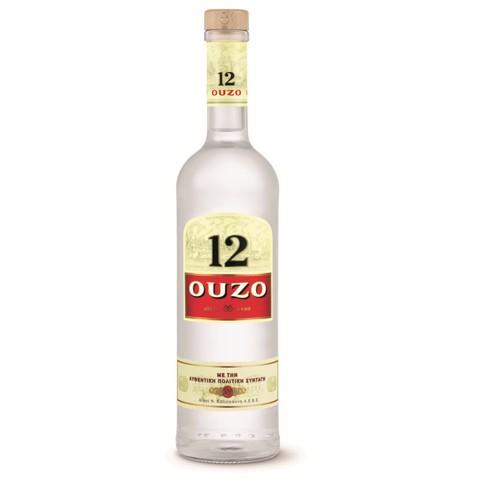 Ouzo 12                       fles 0,70L