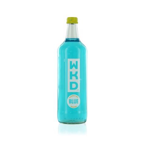 WKD Energy Blue Vodka     fles 0,70L