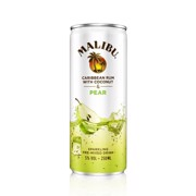 Malibu & Pears blik        tray 12x0,25L