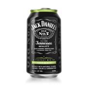 Jack Daniel's Whiskey & Ginger blik  tray 12x0,33L