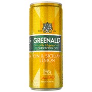 Greenall's Gin & Lemon blik tray 12x0,25L