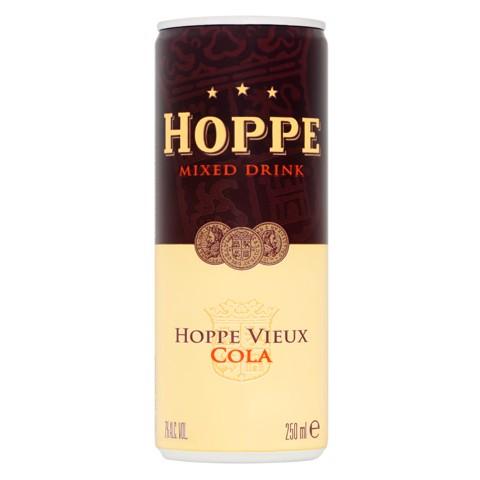 Hoppe Vieux & Cola blik    tray 12x0,25L
