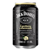 Jack Daniel's Lynchburg Lemonade blik tray 12x0,33L