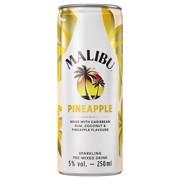 Malibu & Pineapple blik    tray 12x0,25L