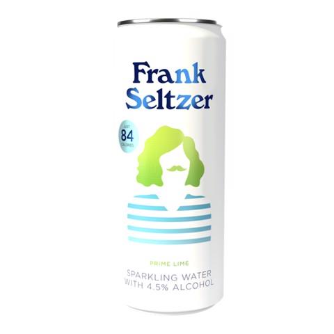 Frank Seltzer Prime Lime blik tray 12x0,33L