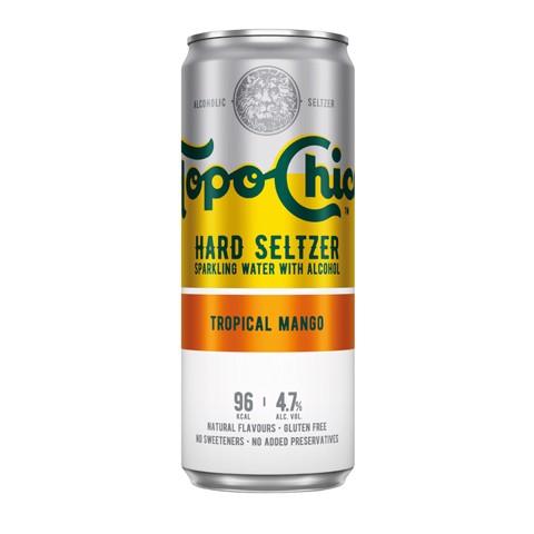 Topo Chico Hard Seltzer Tropical Mango tray 12x0,33L