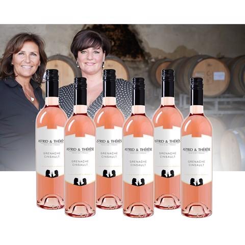 Astrid & Thérèse Grenache-Cinsault Rosé 0,75L