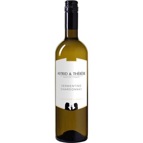 Astrid & Thérèse Vermentino-Chardonnay Blanc 0,75L