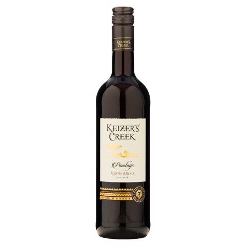 Keizers Creek Pinotage Rood     0,75L