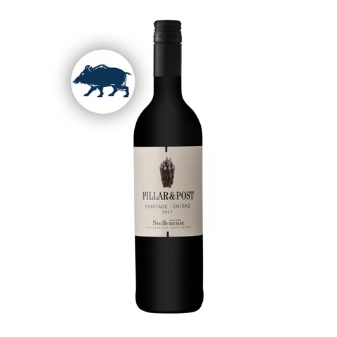 Pillar & Post Pinotage-Shiraz   0,75L