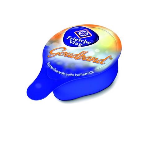 Friesche Vlag Goudband cups doos 200x7,5gr