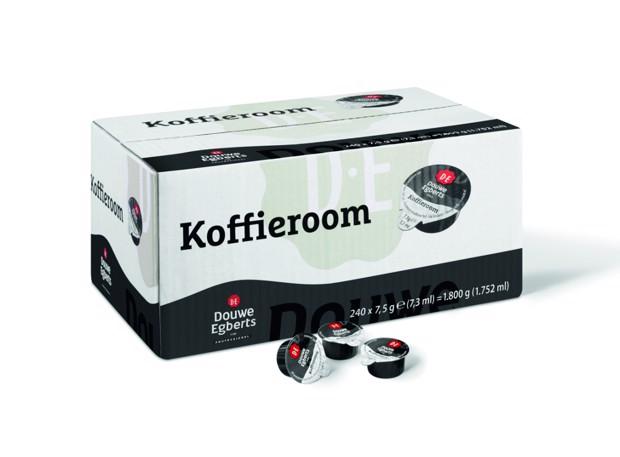 Douwe Egberts Koffieroomcups        doos 240x7,5gr