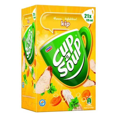 Cup-a-Soup Kip           doos 4x21x175ml